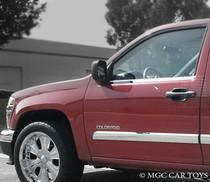 Chevy Colorado Crew Cab 2004-2012 Stainless Steel Chrome Finish Window Sill Trim 4Pc