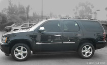 2010-2011 Chevy Tahoe /GMC Yukon Stainless Steel Chrome Finish Body Side Molding