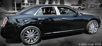 2011-2013 Chrysler 300 300C 6 Pc High-Polished Stainless Steel Pillar Posts Trim