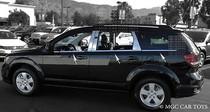 2009-Up  Dodge Journey High Quality Stainless Steel Window Sill Trim 6-Piece Set