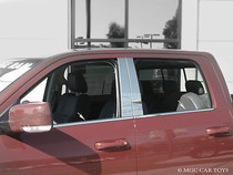 2009-2013 Dodge Ram 1500 Crew Cab Ram 2500/3500 Mega Cab Window Sill Trim