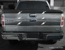 2009-2010 Ford F-150 Stainless Steel Chrome finish Tailgate Insert Trim Molding