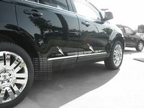 2007-2012 Ford Edge / Lincoln MKX Stainless Steel Body Side Slim Trim 4Pc