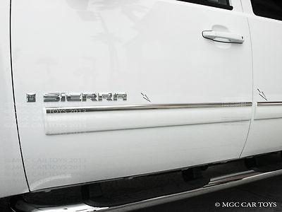 07-13 GMC 1500 2500 3500 Sierra Crew Cab Body Side Molding Trim Full Width  4Pc R3352