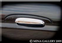 Jaguar X-Type Chrome Door Handle Trim Finisher Set Of 4