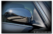 Jaguar X-Type Chrome Mirror Cover Trim Finisher Set