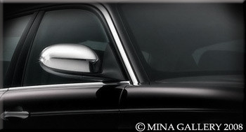 Jaguar 97-06 XK8 XKR Custom Chrome Mirror Cover Kit MINA-113