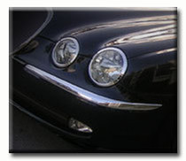Jaguar S-Type Chrome Headlight And Taillight Trim Package