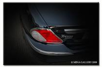 Jaguar X-Type Chrome Taillight Trim Finisher Set