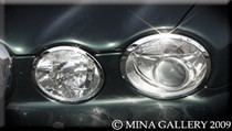 Jaguar XJ8 XJR 04-07 Chrome Package Headlight Mirror Fog