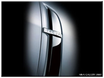Jaguar XF  & XF R Chrome Fender Louver Trim Finisher Set