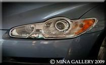 Jaguar XF  & XF R Chrome Headlight & Taillight Trim Kit