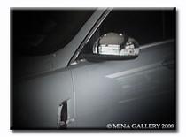 Jaguar XJ8 XJR 08-09 Chrome Mirror Cover Upgrade Set