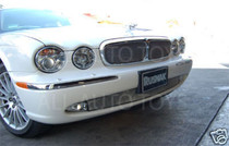 Jaguar 04-07 XJ6 XJ8 Top Wire Mesh Grille Insert X350