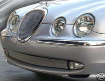 Jaguar S-Type Bottom Bumper Mesh Grille Grill 2000-04