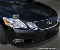 2007-2011 Lexus GS Headlight Chrome Trim Upgrade (One Set)