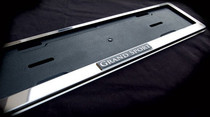 Grand Sport Chrome European Plate Frame Bentley Bugatti Aston Martin Maserati