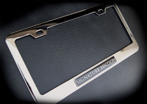 Signature Edition Chrome License Plate Frame Bentley Aston Martin Maserati BMW