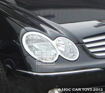 CLK Mercedes 2003-2009 MGC Sport Headlight & Taillight Chrome Trim Surround