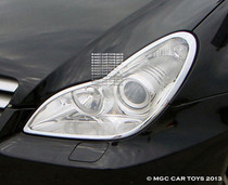 Mercedes CLS  2005-2010 MGC Headlight & Taillight Chrome Trim Surround