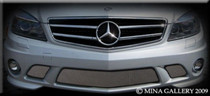Mercedes C-Class 08- Lower Mesh Grille Grill Amg C63