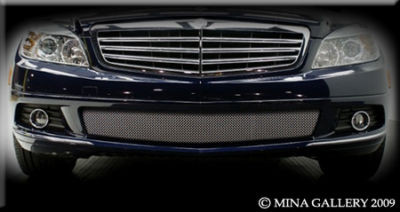 Mercedes C-Class 08- Lower Mesh Grille Grill C300