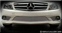 Mercedes C-Class 08- Lower Mesh Grille Grill C350 Sport