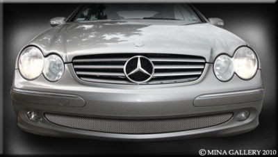 Mercedes CLK 04-05 Lower Mesh Grille Grill Kit