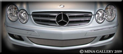 Mercedes CLK 06-08 Lower Mesh Grille Grill Kit