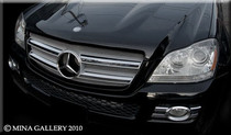 Mercedes GL Gl320 Gl450 Mesh Grille Grille Upgrade Kit 07-2009