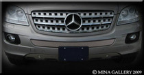 Mercedes ML M-Class Middle Mesh Grille Grill 06-2008