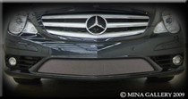 Mercedes R-Class Lower Mesh Grille Grill Set 08-2009