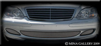 Mercedes S-Class Lower Mesh Grille Grill 03-06 S430