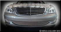 Mercedes S-Class Lower Mesh Grille Grill 2007 S550