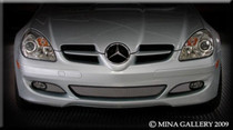 Mercedes SLK 3 Part Lower Mesh Grille Grill 05-08