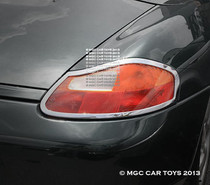 Porsche Boxster  & Boxster S Taillight Chrome Trim Surround 1996-2004 (One Set)