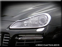 Porsche Cayenne 2008-2013 Headlight Chrome Trim Upgrade
