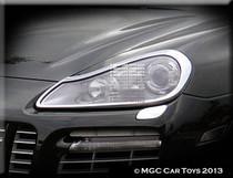 Porsche Cayenne GTS 2008-2013 Headlight Chrome Trim Upgrade (One Pair)