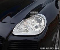Porsche Cayenne Turbo 2003-2006  Headlight Chrome Trim Upgrade