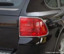 Porsche Cayenne Turbo 2003-2006  Taillight Chrome Trim Surround (One Set)