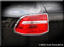 Porsche Cayenne Turbo 2008-2013 Taillight Chrome Trim Surround (One Set)