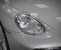 Porsche Cayman & Cayman S 2005-2013 Headlight Chrome Trim Surround (One Pair)