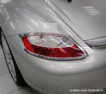 Porsche Cayman & Cayman S 2005-2013 Taillight Chrome Trim Surround (One Pair)