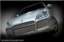 Porsche Cayenne Mesh Grille Kit Grill 2003-06 Turbo