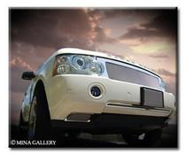 Range Rover 2006-2009 Chrome Mesh Grille Grill Full Package Strut & Asanti Style