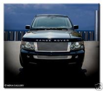 Range Rover Sport Chrome Mesh Grille Grill Full Strut Asanti Style
