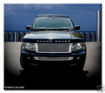 Range Rover Sport Complete Chrome Mesh Grille Grill Kit Strut Asanti Style