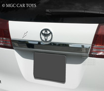2004-2010 Toyota Specialty Trim Items Sienna Tailgate Accent Trim R7044