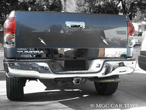 2007-2011 Toyota Tundra Stainless Steel Chrome Finish Tailgate Trunk Molding Trim