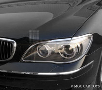 BMW 7 Series E65 05-09 High Quality Headlight Chrome Trim Surround MGC-B009